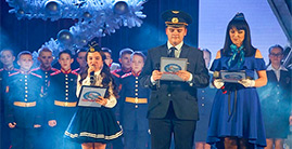 Финал V Открытого фестиваля-конкурса юных дарований «Катюша-юниор. Рейс «Москва - Мечта»