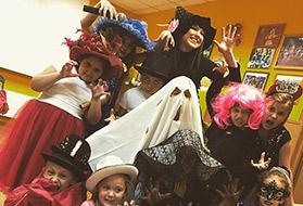 Праздник в стиле «Хеллоуин» в Творческом Центре «Взлётная полоса»