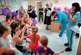 ДЕНЬ ЗАЩИТЫ ДЕТЕЙ -  «День Ангела» В Российской Детской Клинической Больнице
