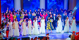 Финал VII Открытого фестиваля-конкурса юных дарований «Катюша-юниор. Рейс «Москва – Мечта 2019»
