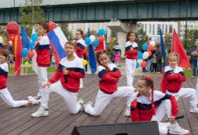 БФ «Взлётная полоса» поздравил москвичей с Днём Города